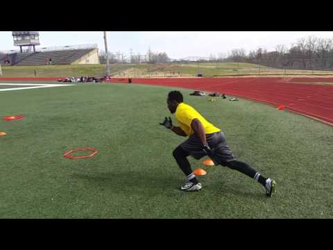 THAT TRAINER JOHNNY: Wide Receiver Footwork 3-6-16