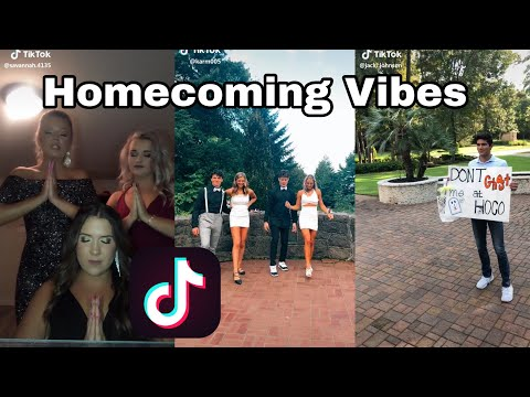 Homecoming TikTok Compilation || Transformations, Hocoproposals, and More!!