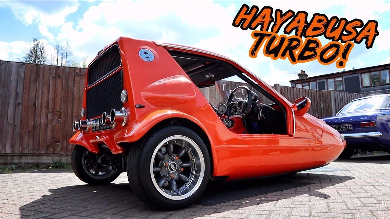 Download THIS *SUZUKI HAYABUSA TURBO* POWERED 3 WHEELER IS PURE EVIL!!