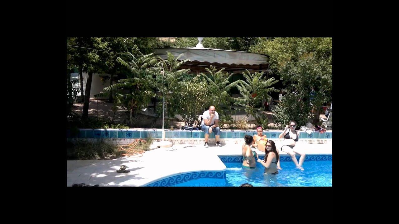 cortijo villa paraiso illora piscina youtube