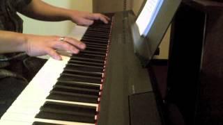 Chiếc khăn gió ấm - piano