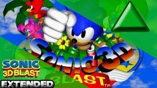 Knuckles Bonus Stage (Unused) - Sonic 3D Blast Music (EXTENDED)