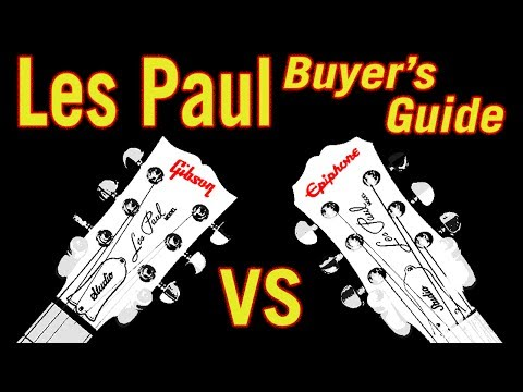 Les Paul Buyer's Guide: Gibson vs Epiphone