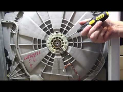 Замена подшипника в стиральной машине Zanussi / Electrolux