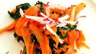 Kale & Carrot Salad : Carrot Recipes