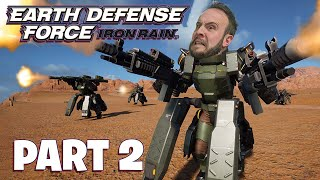 Earth Defense Force: Iron Rain Part 2 - Funhaus Gameplay
