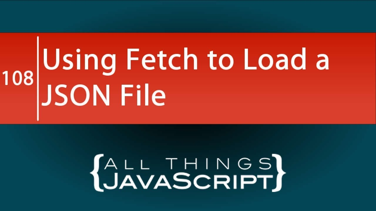Javascript Read Json File