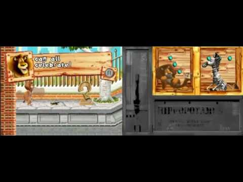 Madagascar DS gameplay/w commentary p.1 --