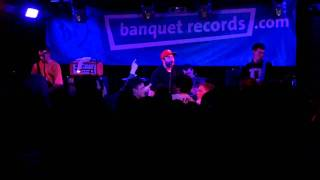 Man Overboard (less one) - Septemberism - at The Peel, Kingston