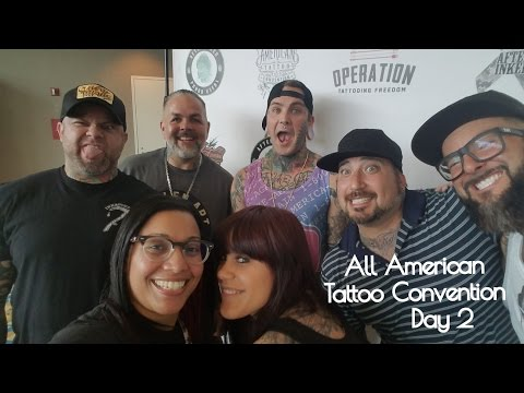 The All American Tattoo Convention Day | VIP Meet & Greet PLUS Artist Interviews!  | TheMrsTee