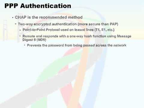 701   69  Point to Point Protocol   05  PPP Authentication