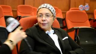 أخبار اليوم | الدكتورة صفية القبانى عميدة كلية الفنون الجميلة