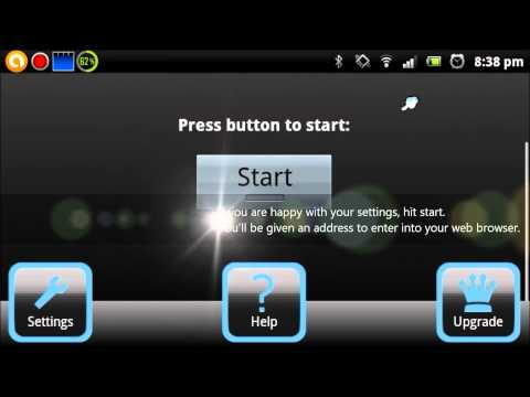 How to manage files on an Android phone with 'Wifi File Transfer'