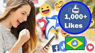 Aplicativo atualizado para curtidas brasileiras no Facebook 2019!