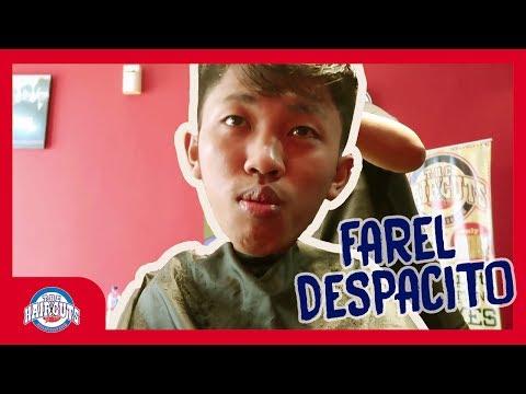 Potong Rambut Bayar Despacito (Farel Nusa)