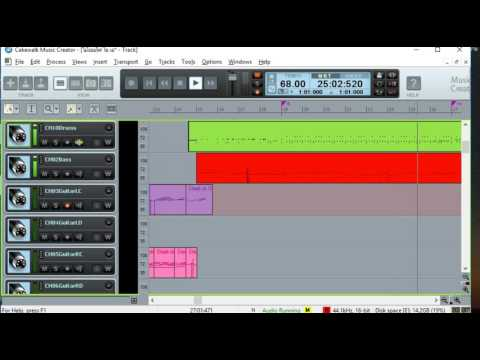 Cakewalk Music Creator Test MIDI