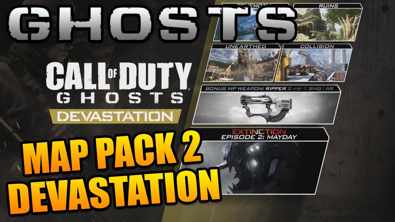 """Call of Duty Ghosts: """"The Ripper"""" Now Avaible & Map Pack 2 ... Cod Ghost Devastation Ripper"""