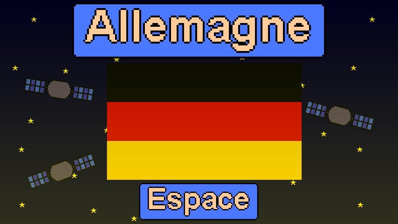 programme spatial allemand l 39 allemagne et l 39 espace youtube. Black Bedroom Furniture Sets. Home Design Ideas
