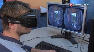 Oculus Rift VR headset review - Hardware.Info TV (Dutch)