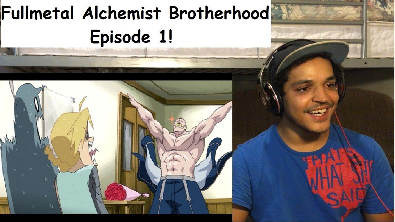 Fullmetal Alchemist Brotherhood Episode 1!   Live Reaction   - YouTube