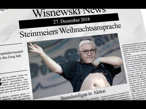 Steinmeier: Neuer Heuchel-Rekord bei Weihnachtsansprache