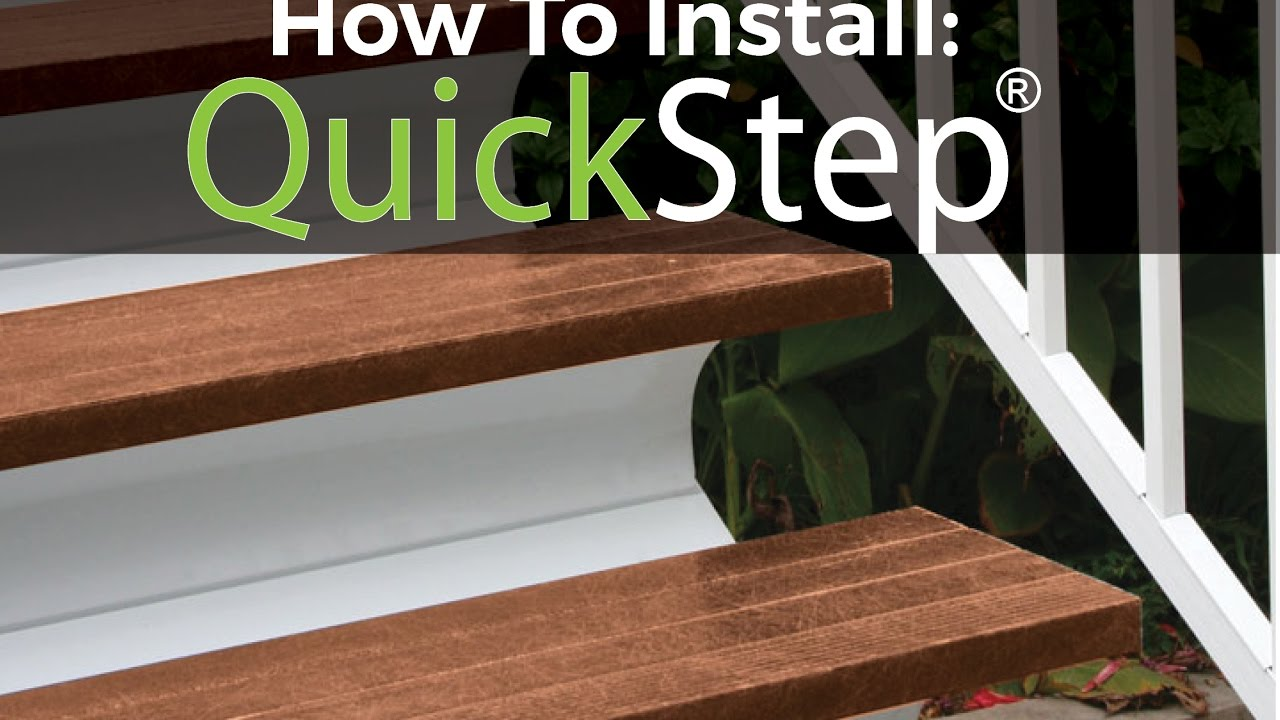 Installing Your QuickStep Stair System With Paul Lafrance