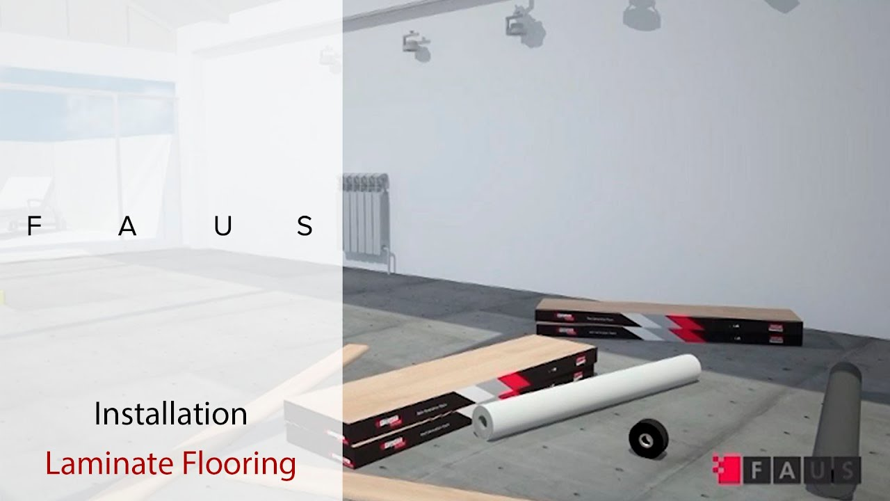 How To Install: LAMINATE FLOORING. FAUS International Flooring