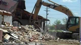 Cinci Northgate Taco Bell Demolition Continues To Completion
