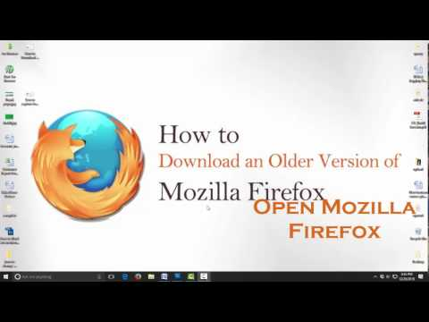 How to Download Mozilla Firefox  Older Version -  all Older Version Mozilla Firefox