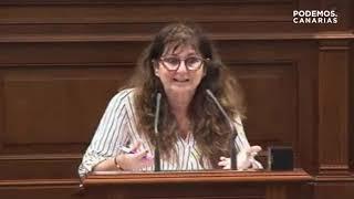 Podemos Canarias vs. Casimiro Curbelo sobre la reforma de la Ley de Cabildos.