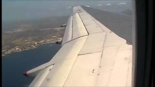 Jet2 B757 Approach and landing Palma De Mallorca