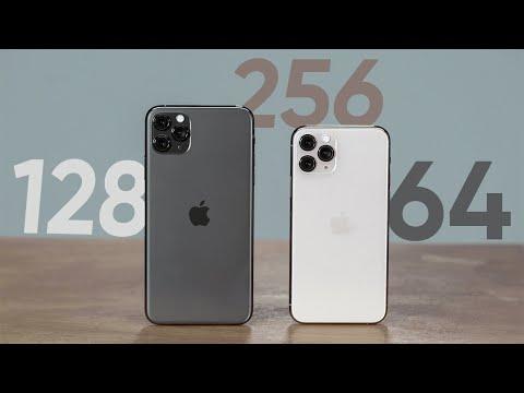 Năm 2020 nên mua iPhone dung lượng 64G hay 128G hoặc cao hơn ?