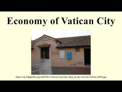 Economy of Vatican City