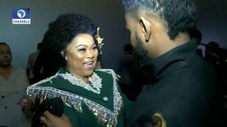 Sola Sobowale Cries At KING OF BOYS Premiere | EN |