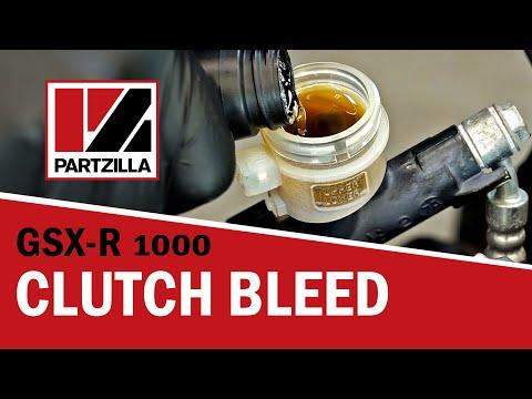 How to Bleed a Hydraulic Clutch on a Motorcycle | Suzuki GSXR 1000 | Partzilla.com
