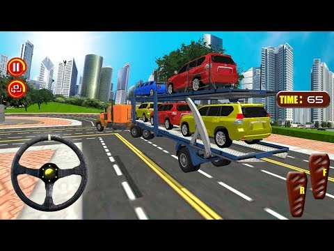 Extreme Car Transporter Trailer 2017 (by Inspire Gamers) Android Gameplay [HD]