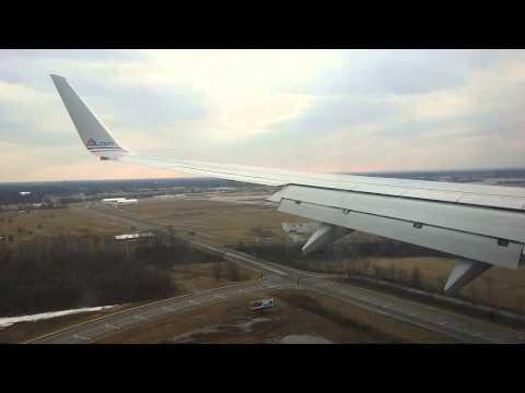 American Airlines 737-800 Landing in Columbus
