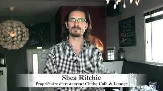 Shea Ritchie - Chaise Café & Lounge - Entrepreneur de l'année 2015