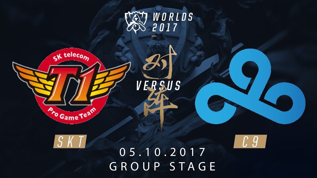 [05.10.2017] SKT vs C9 [Group Stage][CKTG2017][Bảng A]