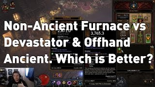 The Furnace vs Ancient Devastator & Offhand. What