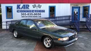 1996 Impala SS @ Kar Connection Miami
