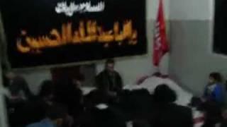 Haye Abbas Mere  - Hussain Jari recticing Live Salaam