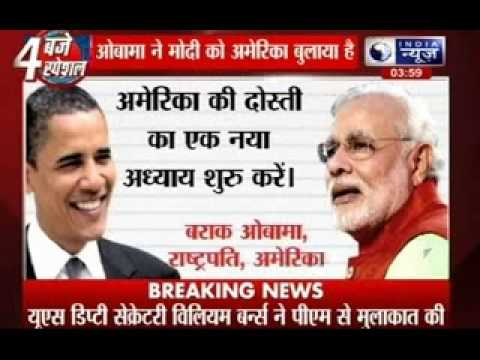 Obama invites Modi to Washington in September