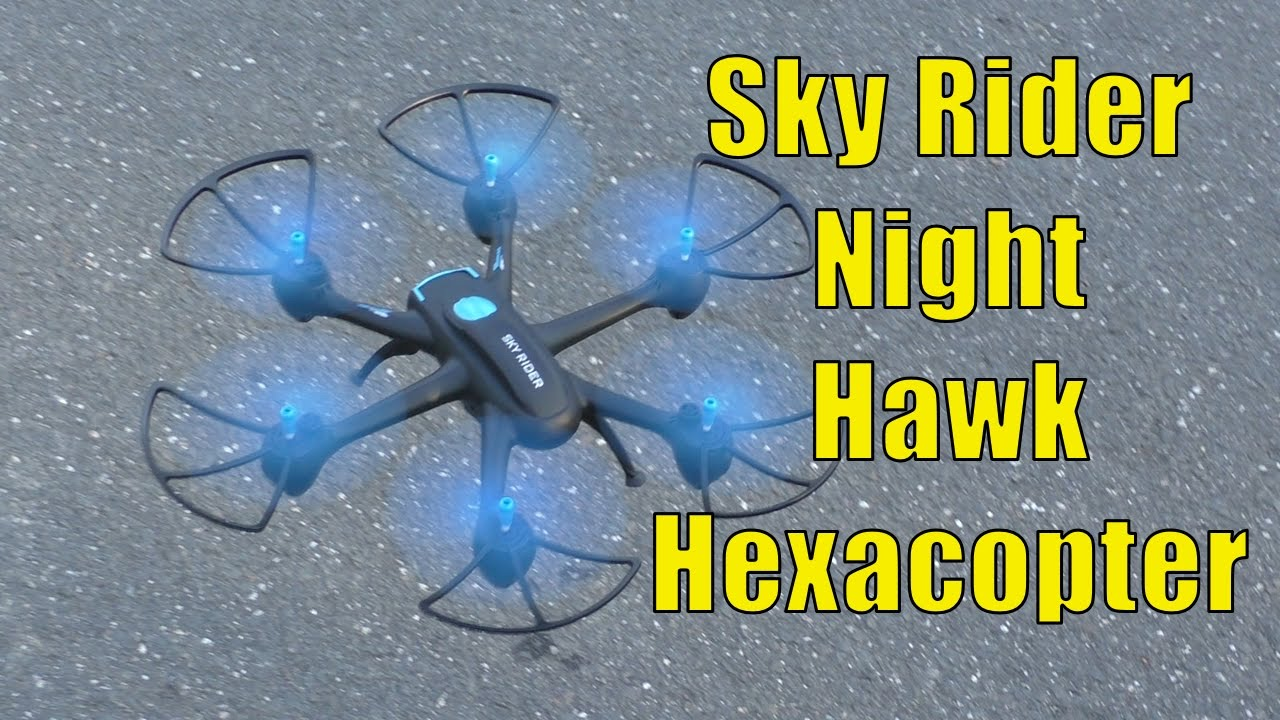 Gpx Sky Rider Night Hawk Hexacopter Drone With Wi Fi Camera Review