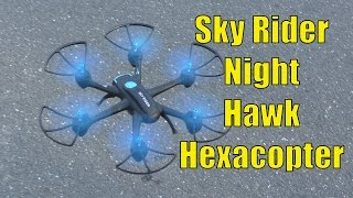 GPX Sky Rider Night Hawk Hexacopter Drone with Wi-Fi Camera REVIEW