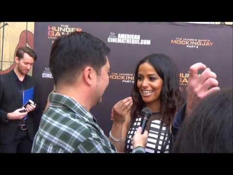 Meta Golding  at The Hunger Games  Experience