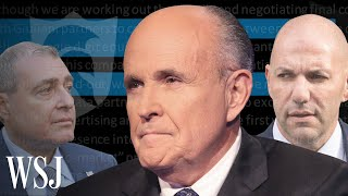 Giuliani's Partnership With Fraud Guarantee Revealed in Letter | WSJ