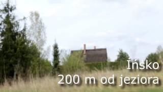 Działka Budowlana w Ińsku przy jeziorze w lesie cena 85 000 zł