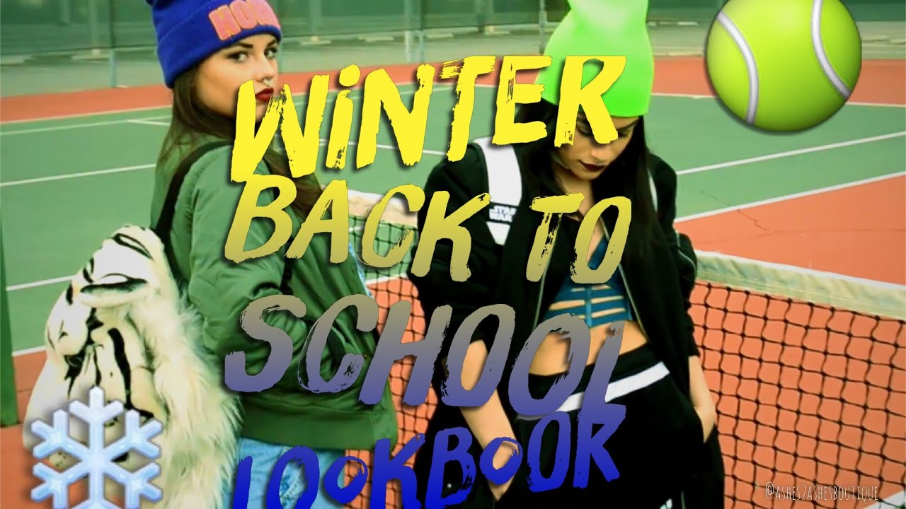 Winter Back To School Look Book L Kehlani Youtube