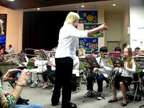5th Grade Band performance - Escondido Elementary School, Stanford, CA